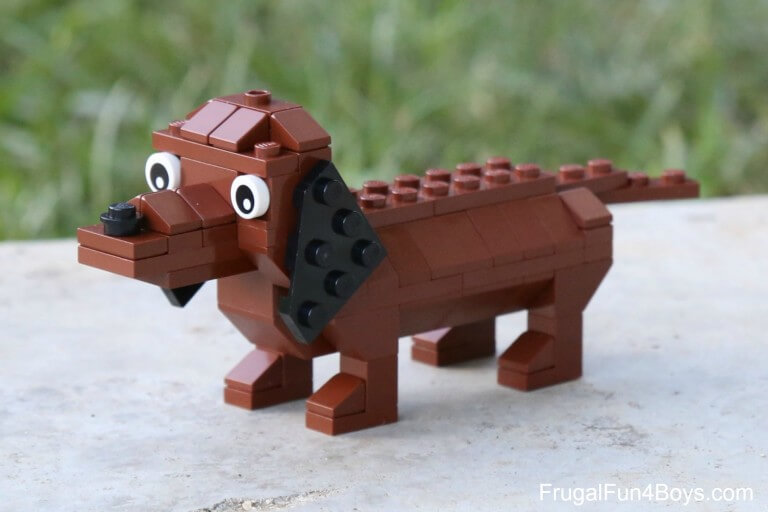 Even dogs can come to life with LEGO