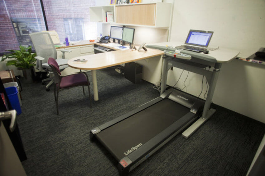 Workout at work! A whole new way to get by the work day