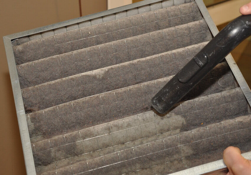 Cleaning your air filters regularly goes a long way into preventing breakdown