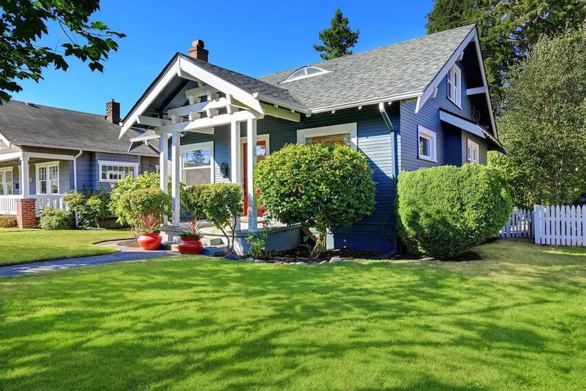Proper watering may involve an irrigation system for your lawn