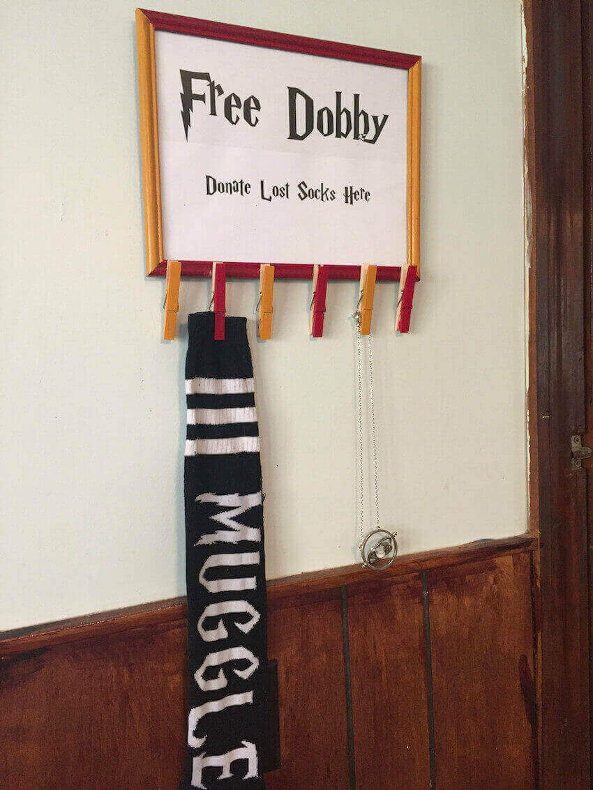 DIY muggle inventions on your interior walls
