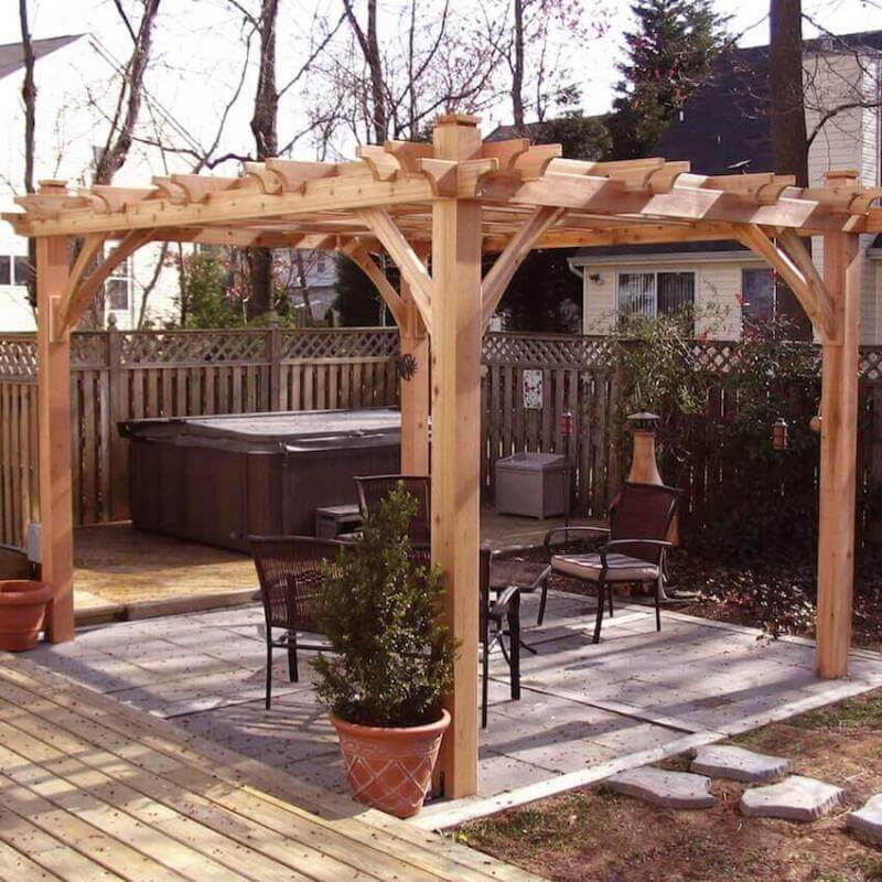 Box style standing structures for your yard