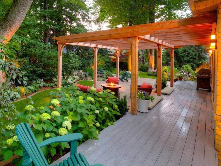 Hardwood exterior structures for any backyard