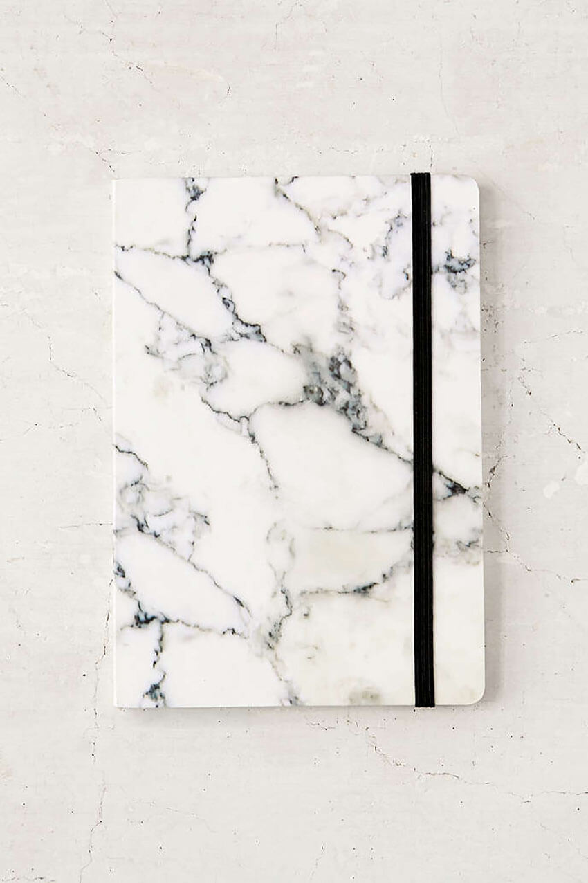 A marble notebook is also a great gift for your loved ones.