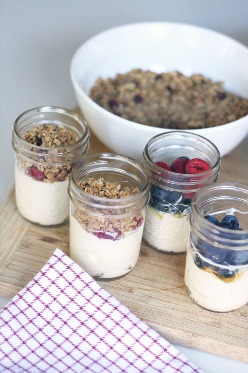 These make-ahead parfaits will enchant the whole family.