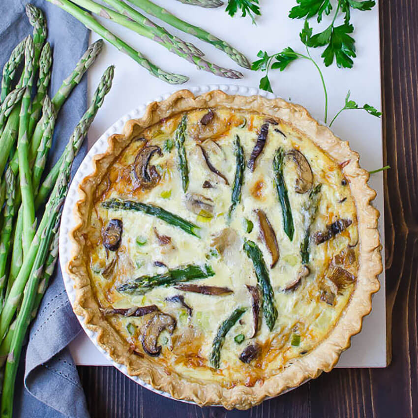 This recipe is filled with spring flavors, perfect for the season.