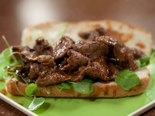 Who doesn't love a delicious steak hoagie?