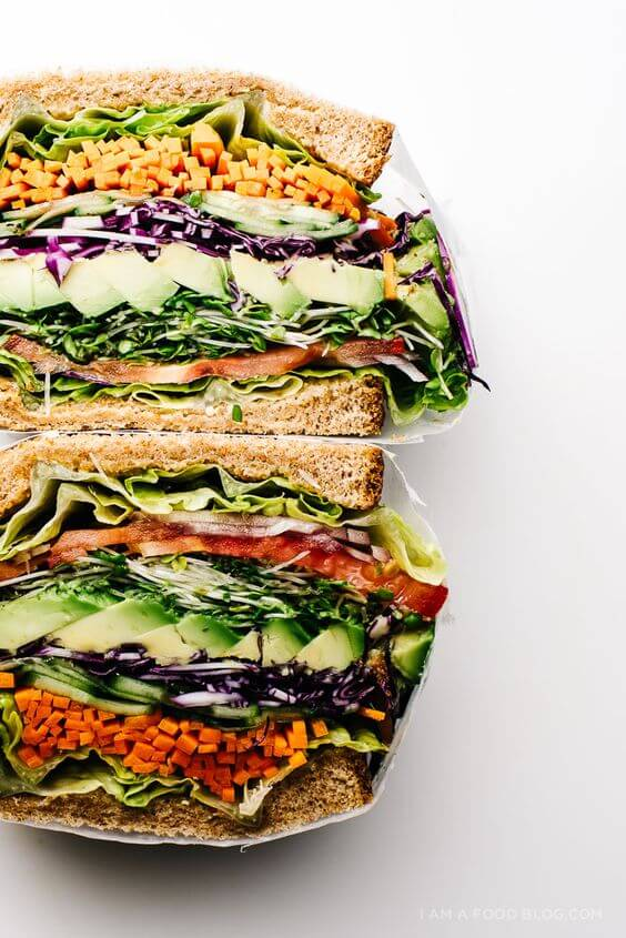 Veggie lovers rejoice! This incredible veggie sandwich is all you need to satisfy your veggie cravings!