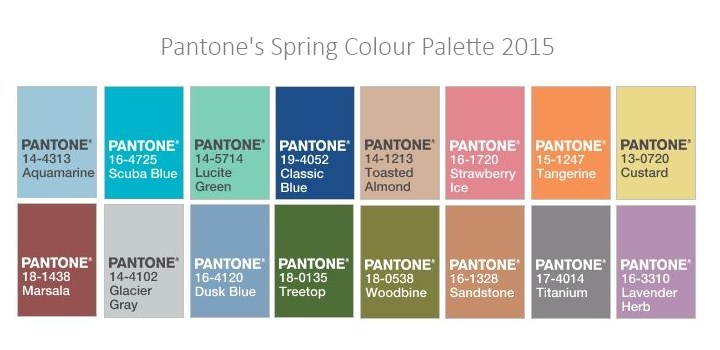 Pantone Color palettes are super helpful when you're remodeling