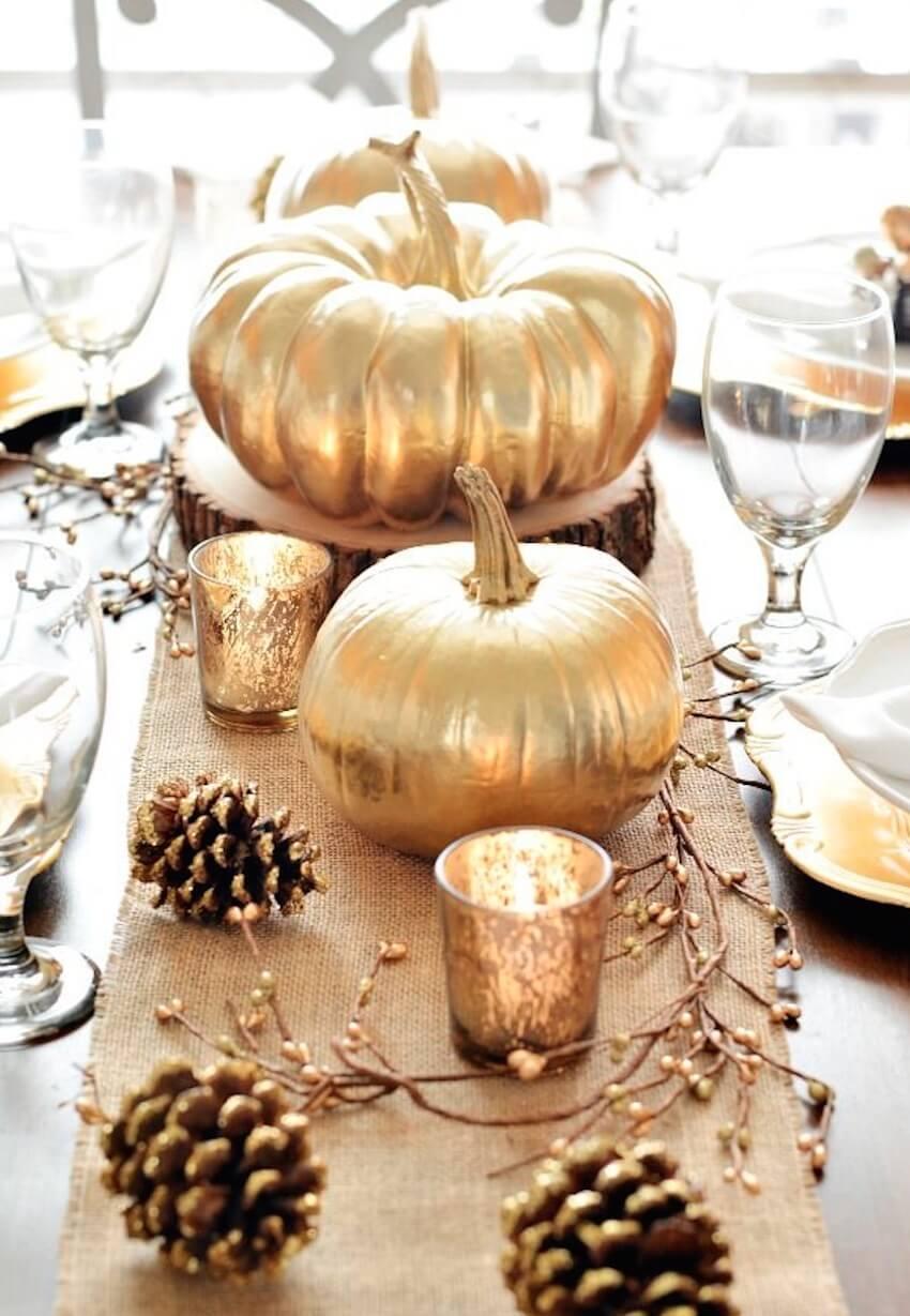 Golden pumpkins make for golden opportunities