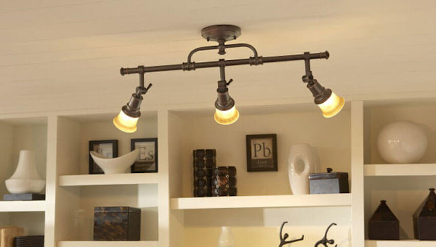Interesting lighting fixtures for a home