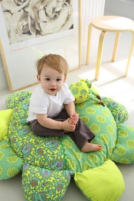 Poufs are great for kids because they're safe, comfortable, and fun.