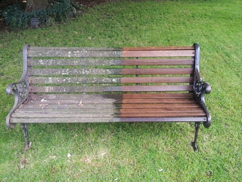 Old bench or new bench