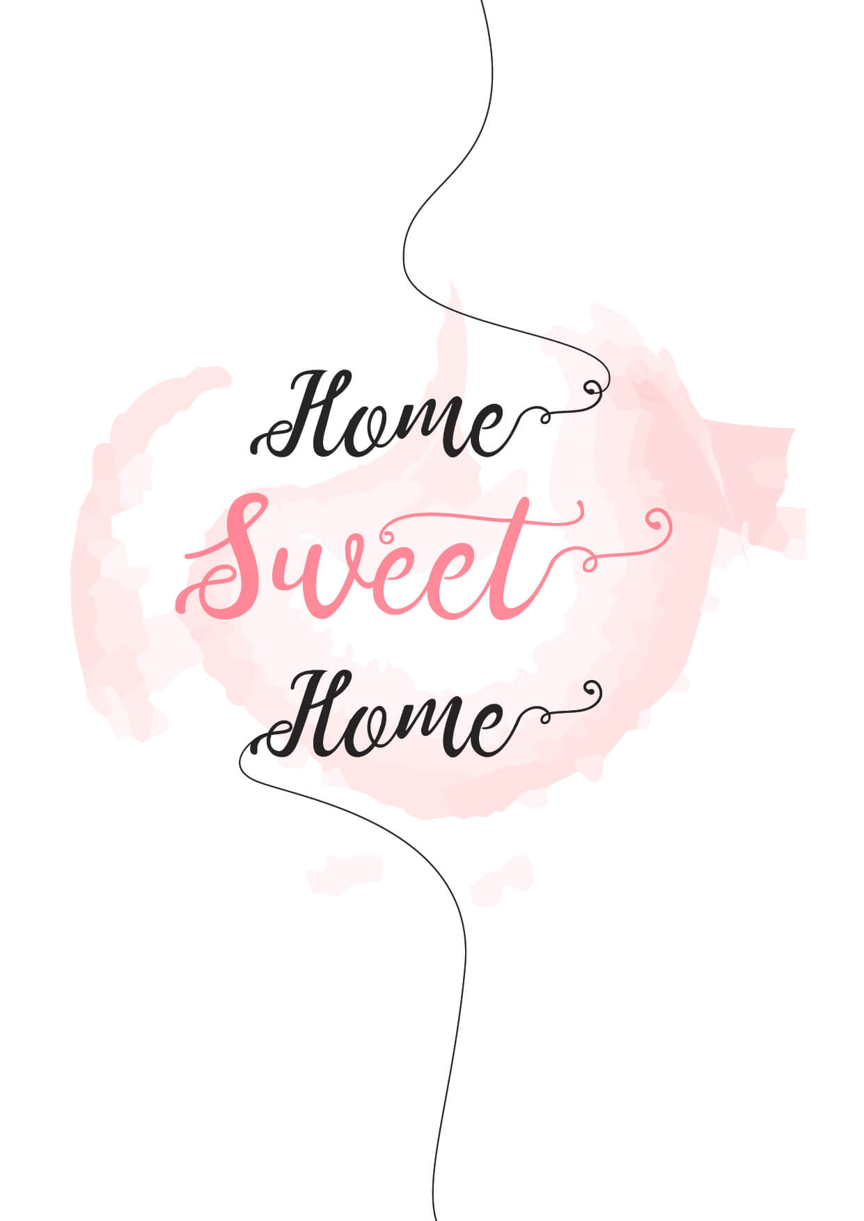 Make your home feel more inviting with this gorgeous printable!