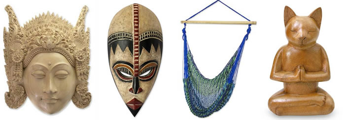 For international art and home decor from different countries, find what you need at Novica
