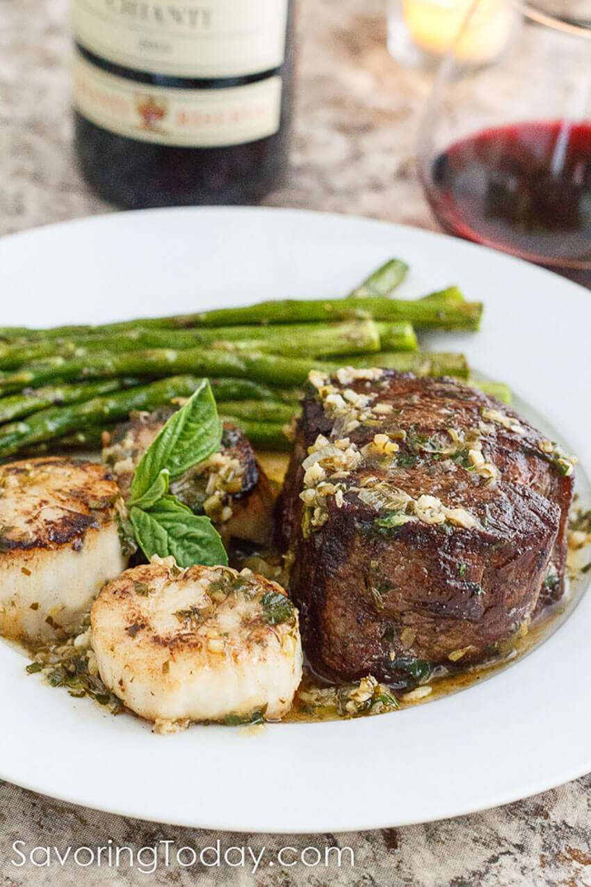 Take the special occasion to the next level with this quick dinner recipe.