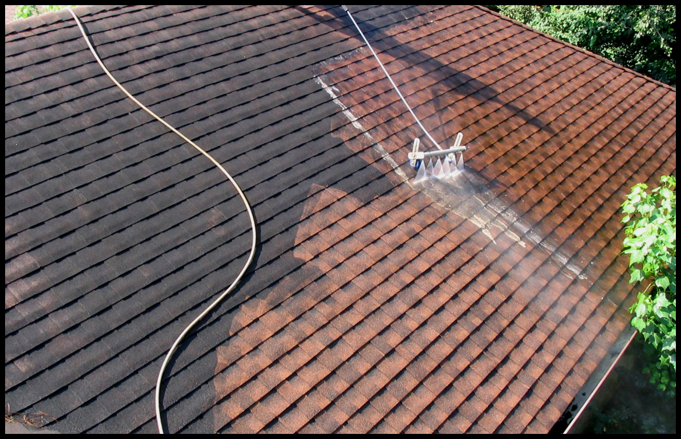 Power washing or pressure cleaning, no matter what you call it the satisfaction is there.
