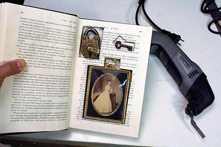Hidden secrets and wonders in a book
