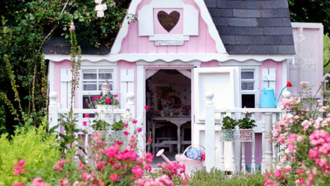 Another she shed fit for a princess.