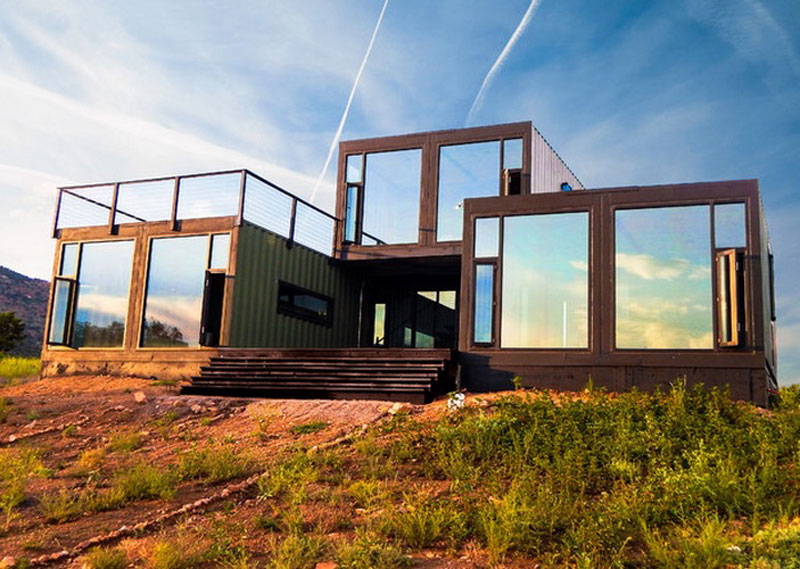Shipping container homes are becoming incredibly popular.