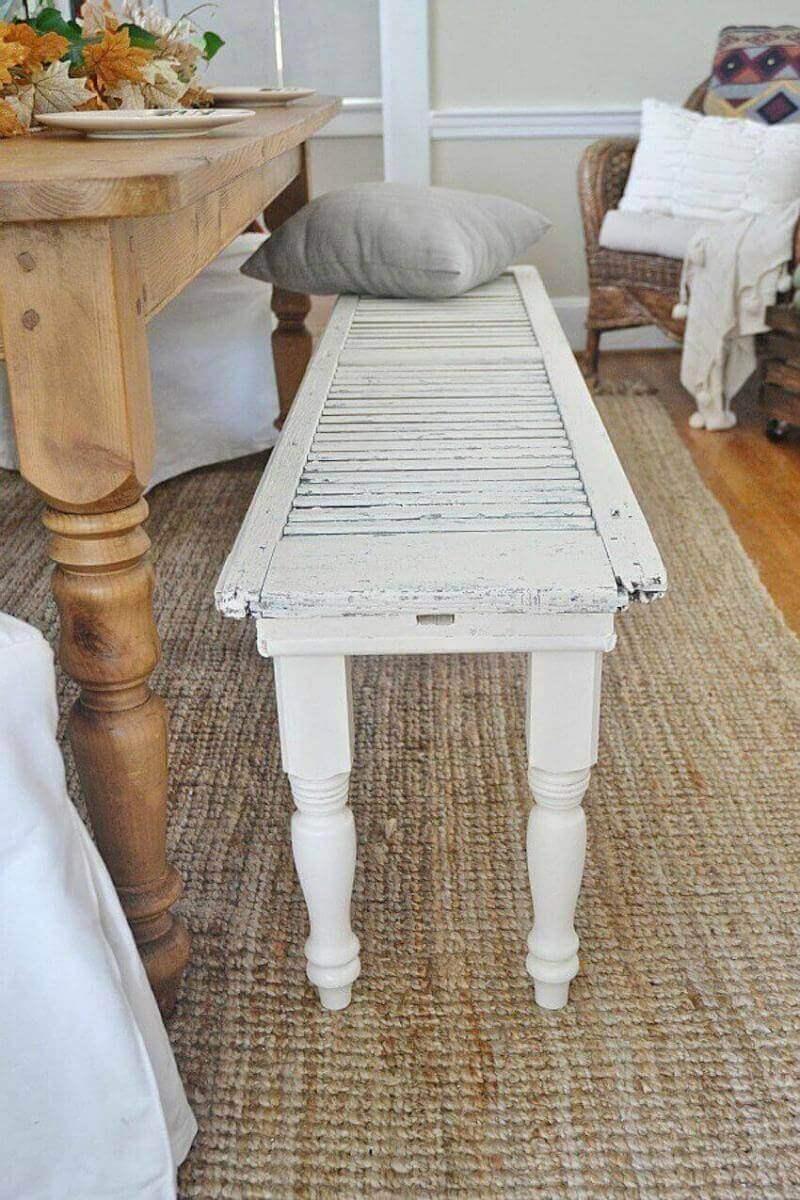 Completely custom white wooden table