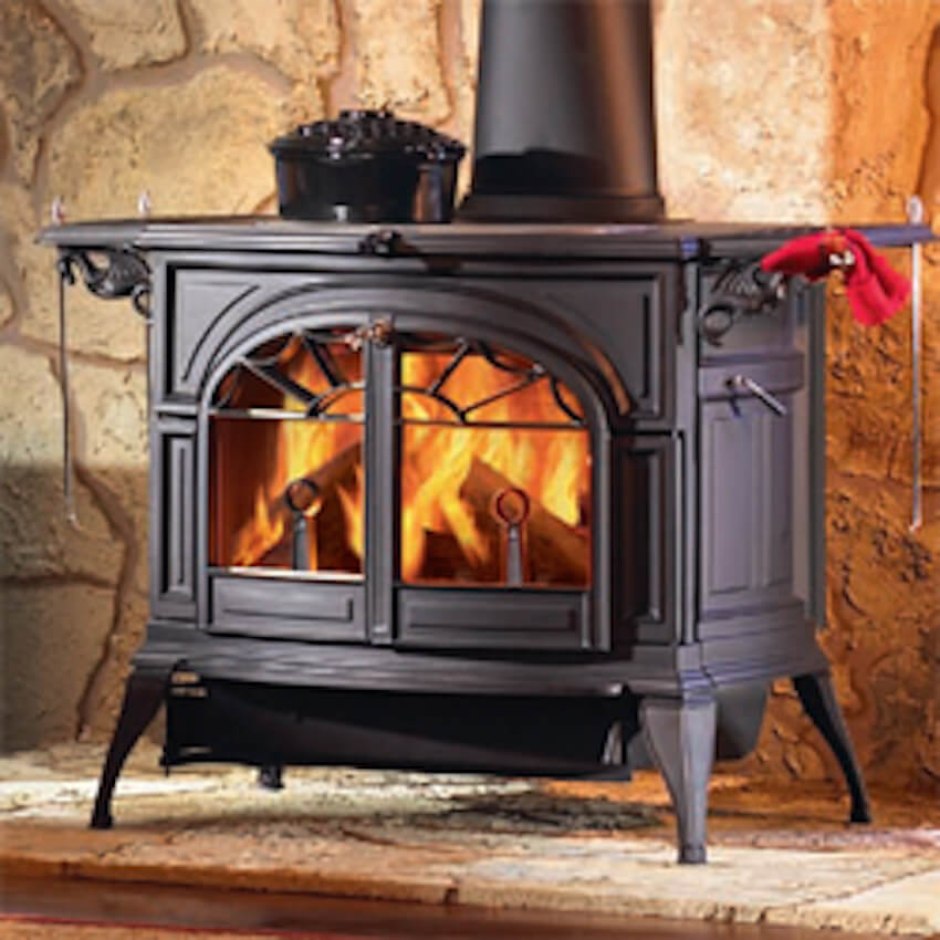 The fireplace mantle can affect your indoor air quality