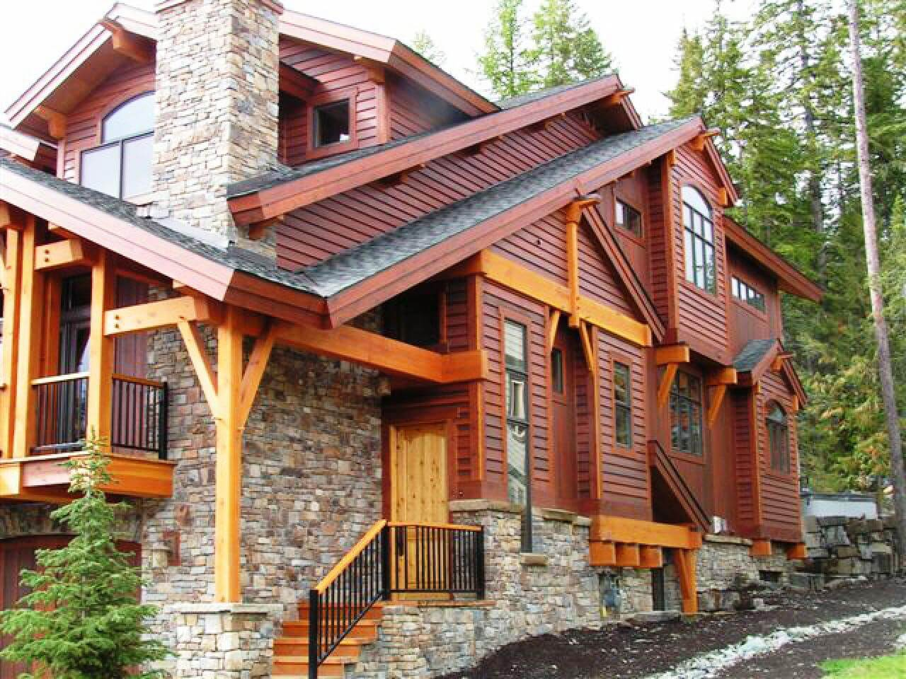 Wood siding is a classic addition to any home in any shape