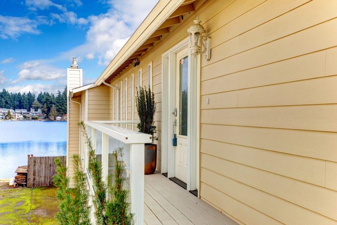 Vinyl siding for a home exterior