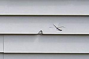 Repair vinyl siding