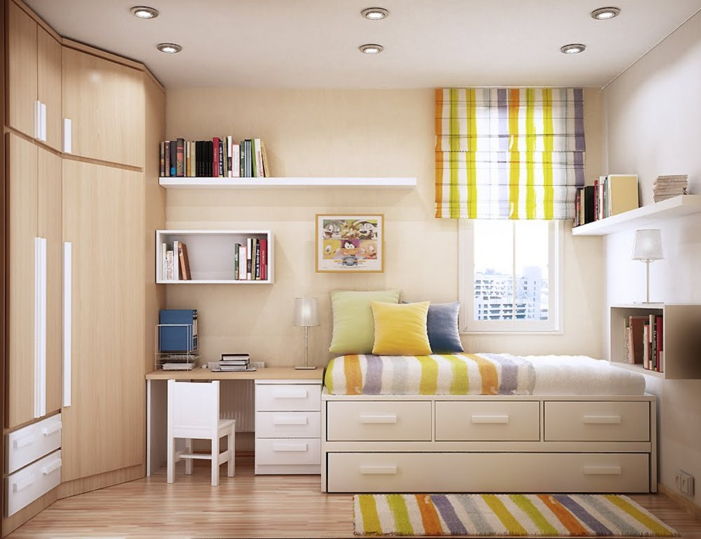 3 Ways to Organize Your Home's Small Space