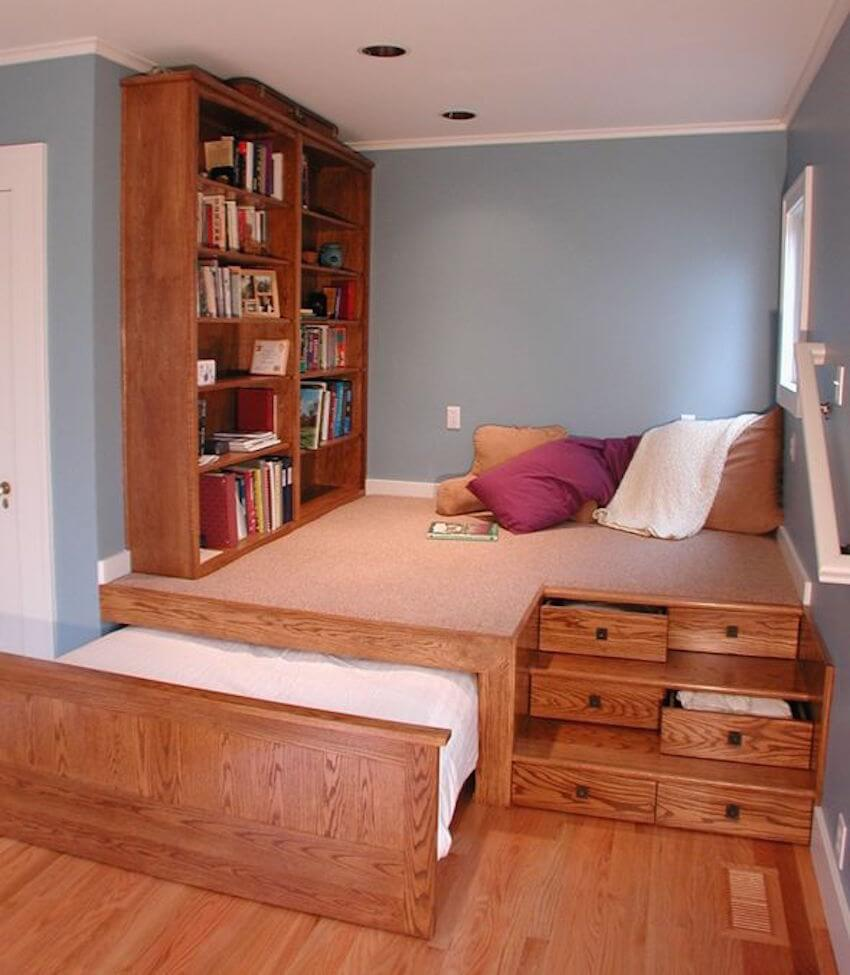 Organized bedrooms have the most space