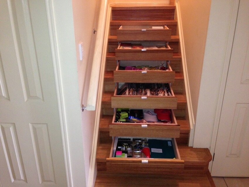 Staircases in step with organization