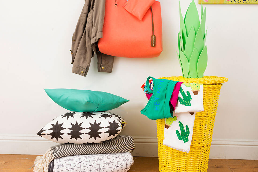 These colorful decor additions will certainly make the home a more interesting place