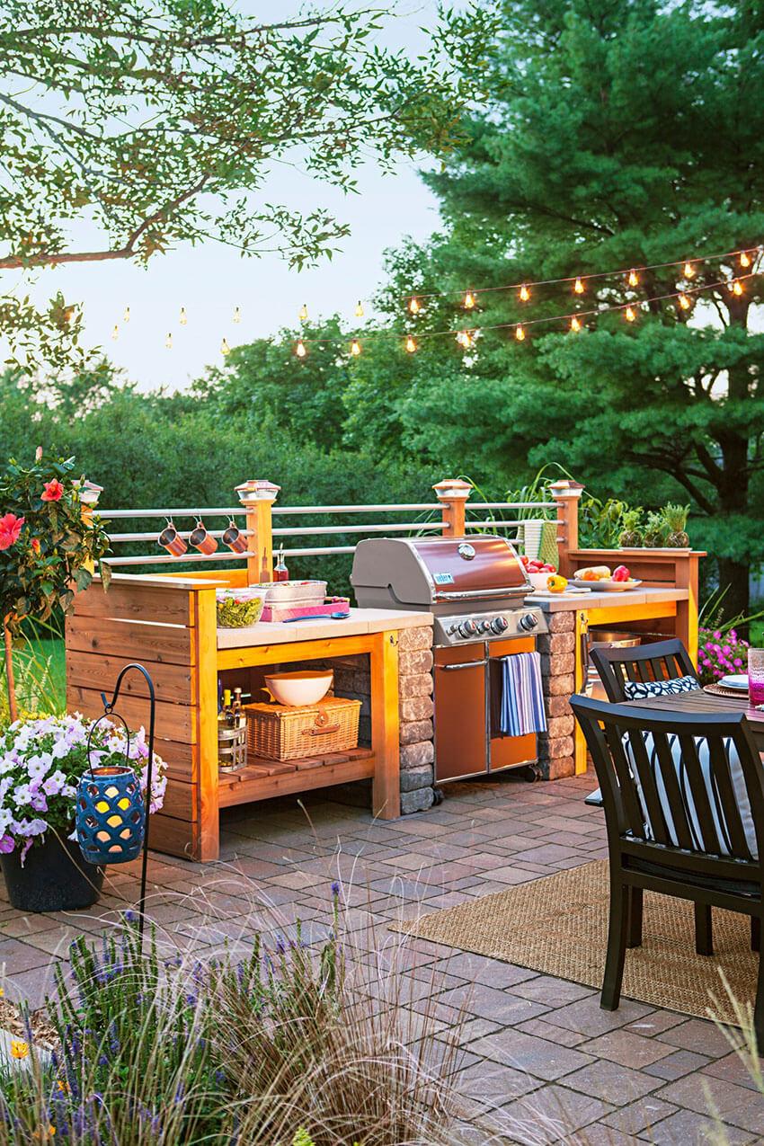 A beautiful backyard is key for an amazing summer.