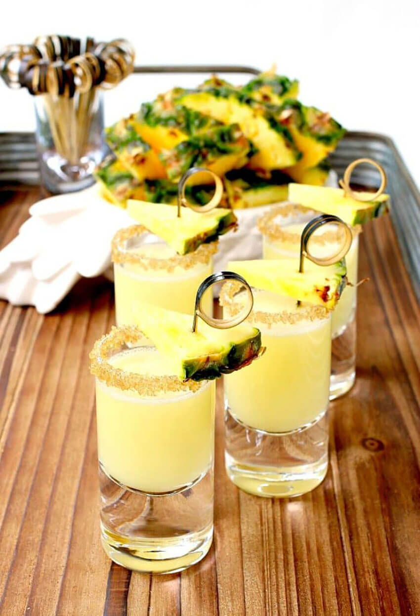 Tequila shots are a must for every summer!