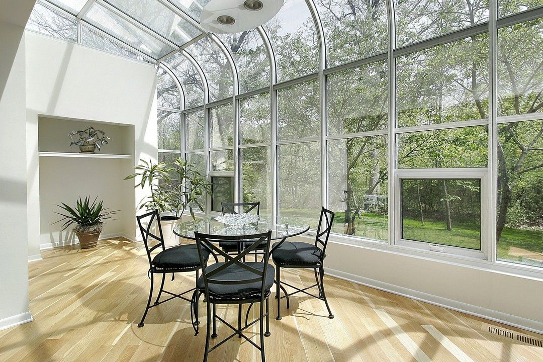 Fantastic open window sunroom for any household addtition