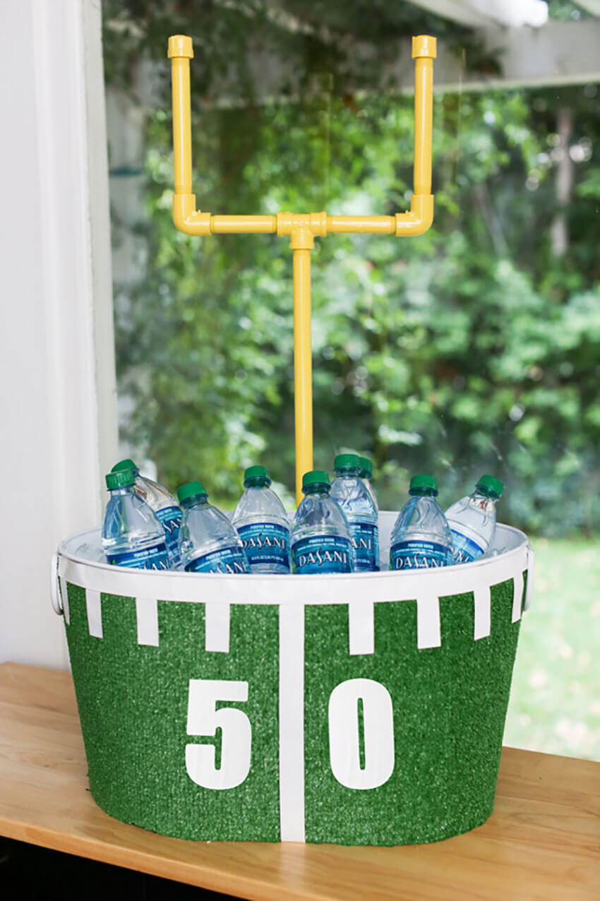 This amazing DIY is easy to make and will transform the game party!