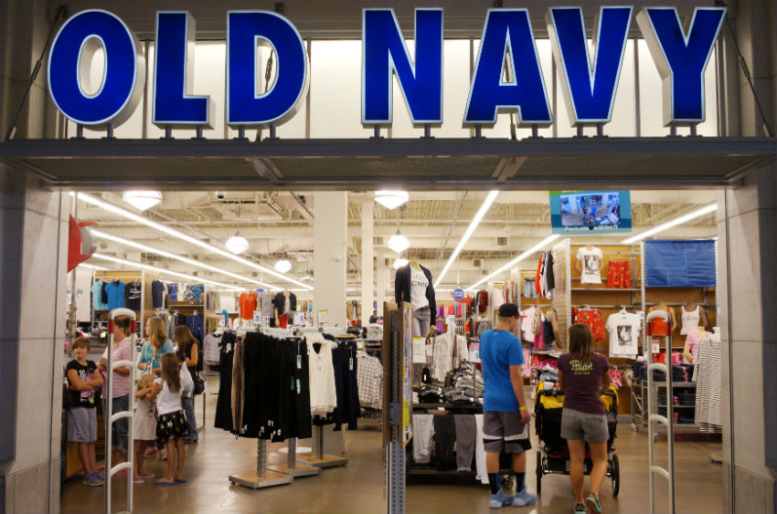 Did you know there's a coffee shop inside Old Navy in San Franscico? Image Source: IB Times