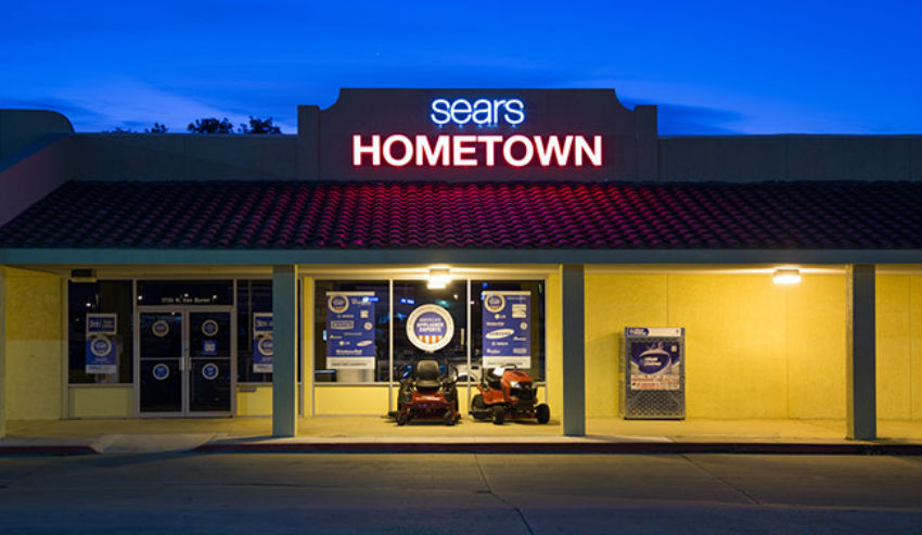 From the big city to small towns Sears will open this Thursday. Image Source: Own A Store