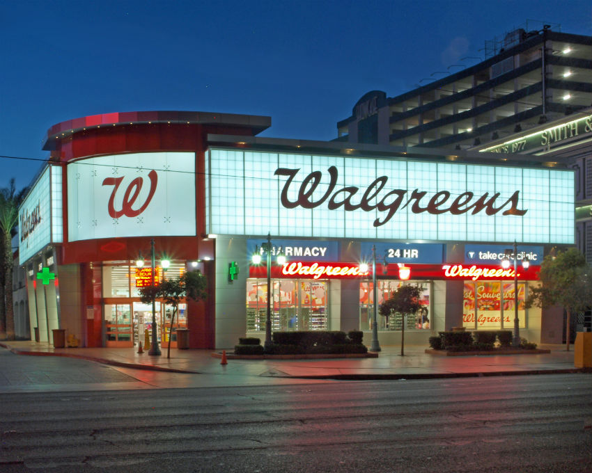 On the same page is Walgreens, that opens early at 8am.