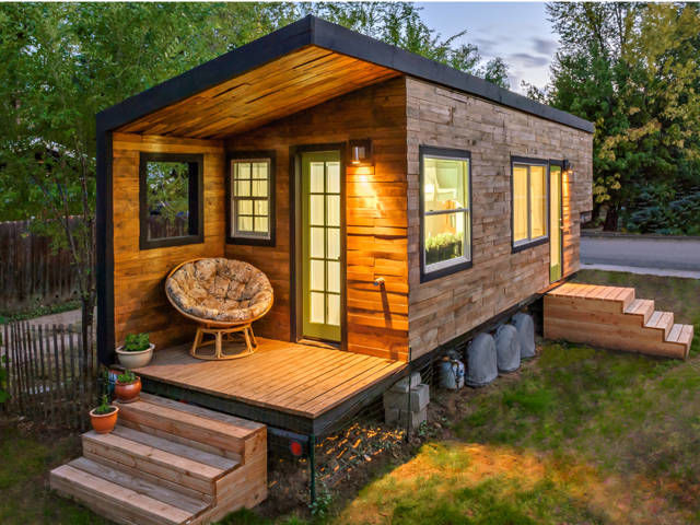 The tiny house movement is perfect for those looking to downsize.