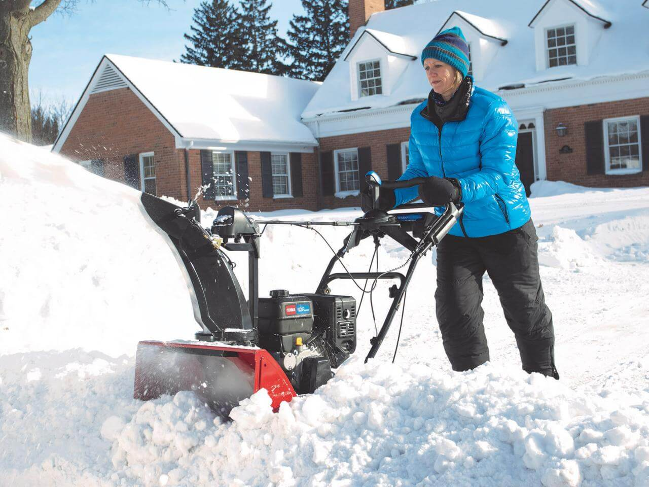 Snow removal is tough business