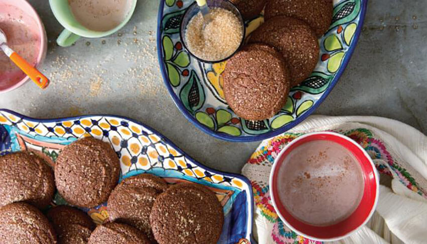 Chipotle pepper gives an amazing touch to these cookies.