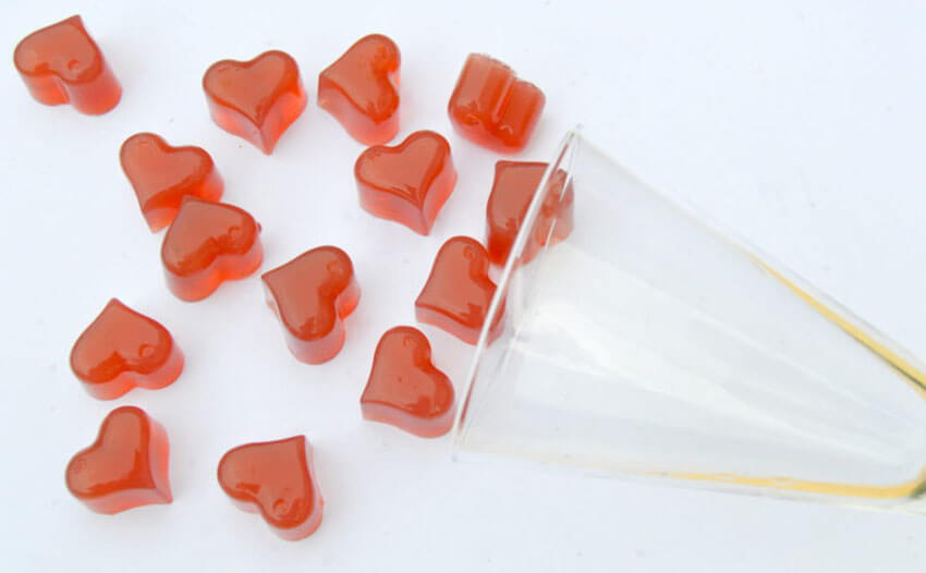 These wine gummies will be the adult's new favorite treat!