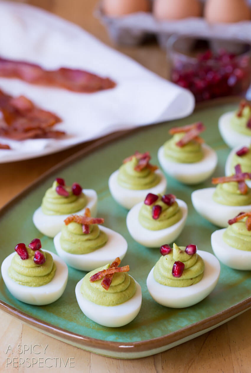 This recipe takes the classic deviled eggs to a whole new level.