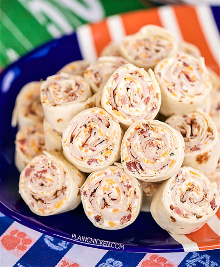 This turkey pinwheels recipe will enchant everybody!