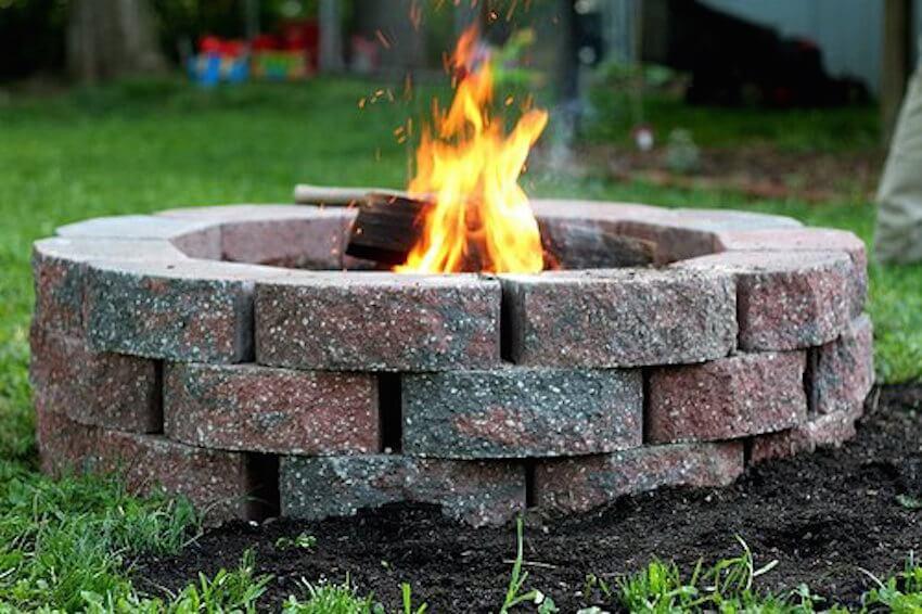 Finally, enjoy a nice relaxing fireplace in your backyard