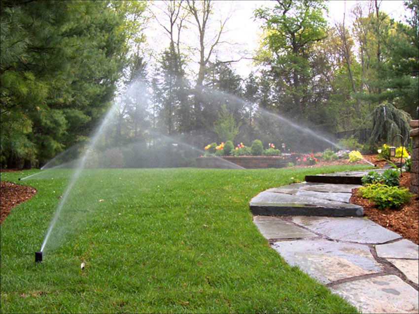 Check your sprinklers to see if they are working properly.