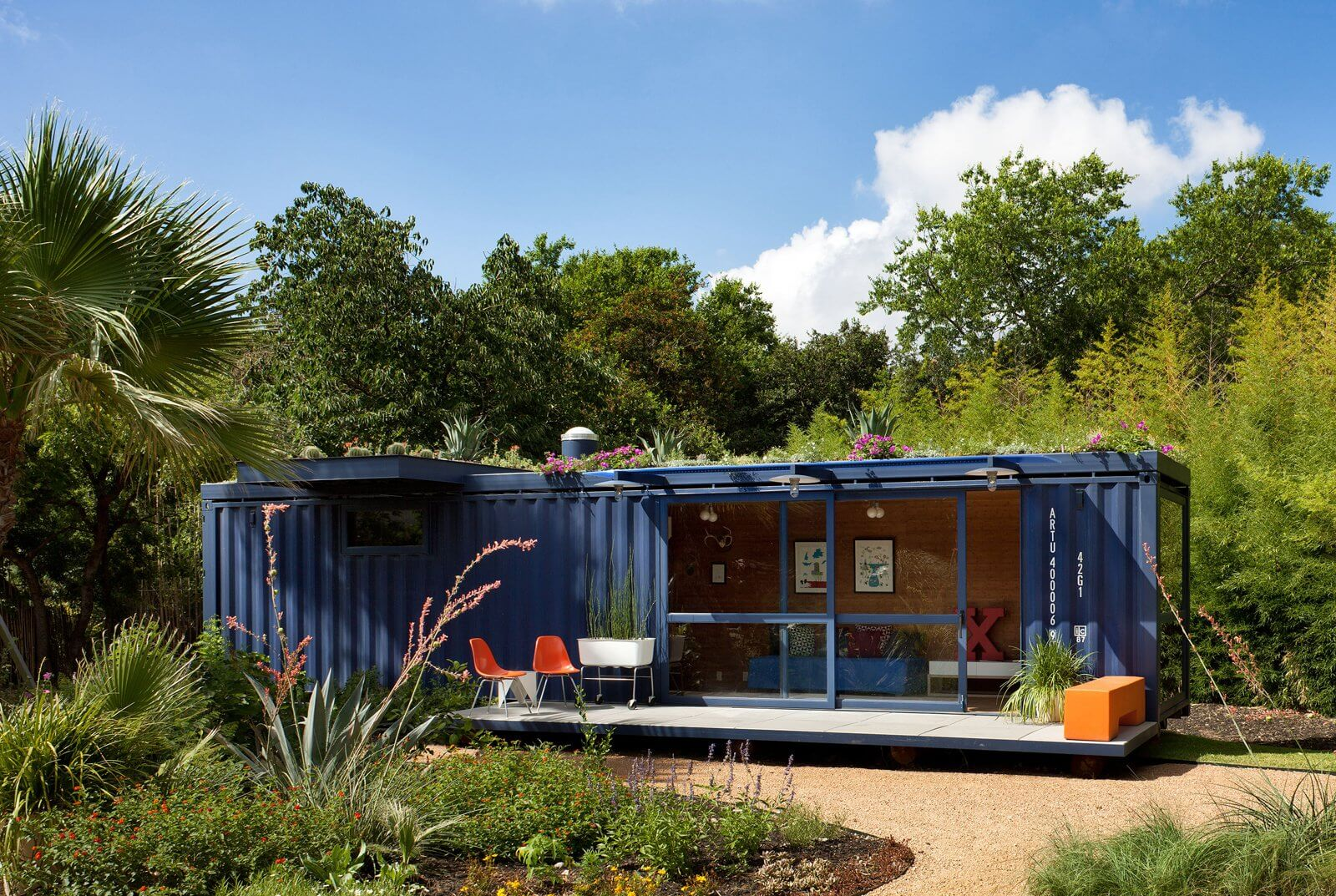 Shipping container homes are very affordable