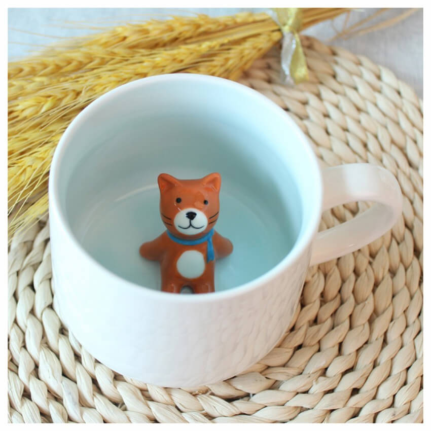 tiny ceramic friend